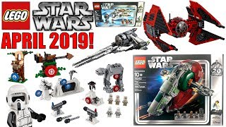 ALL NEW LEGO STAR WARS APRIL 2019 SET PICTURES!