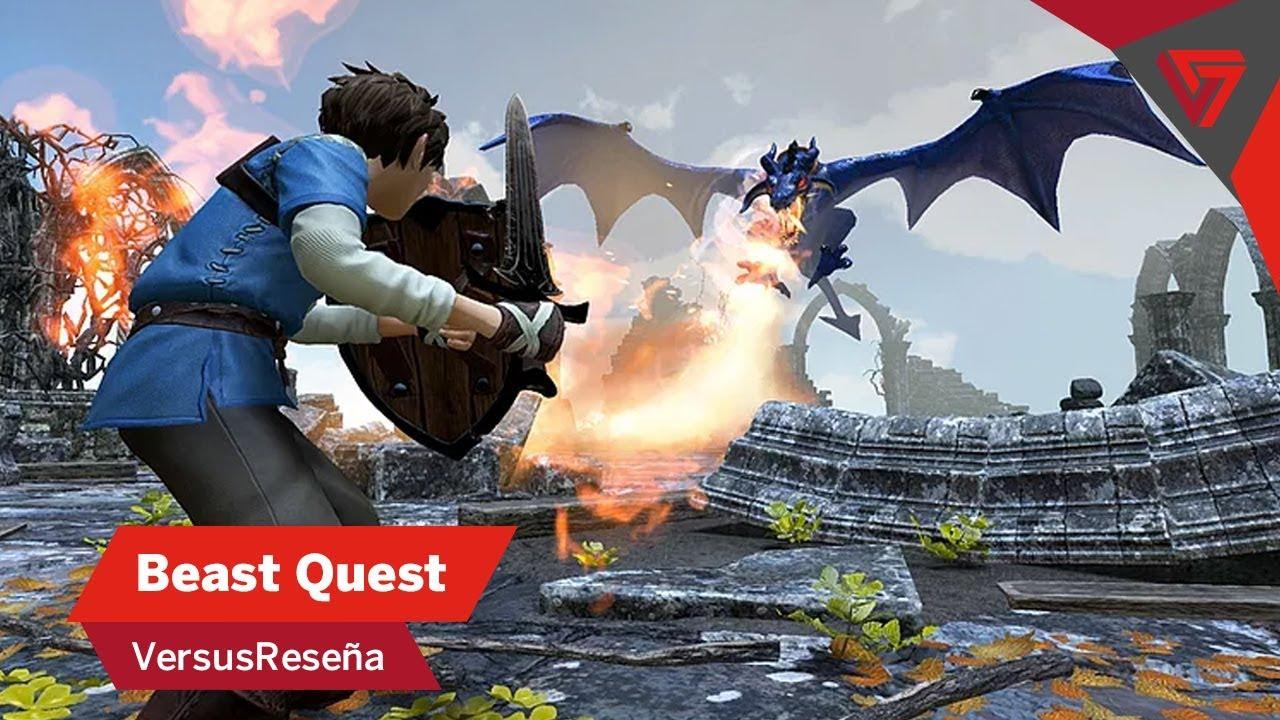 versusreseña  beast quest  youtube