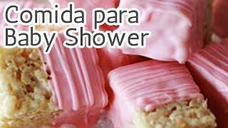 40 Súper ideas Comida para un Baby shower HD