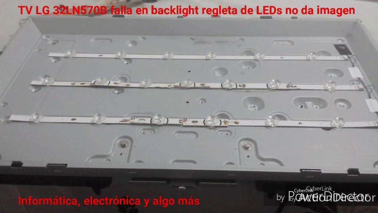 Arreglo Televisor Lg Led Smart Tv 32ln570b No Da Imagen