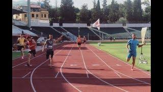 Track star Armando Manoku makes a comeback in the 400M