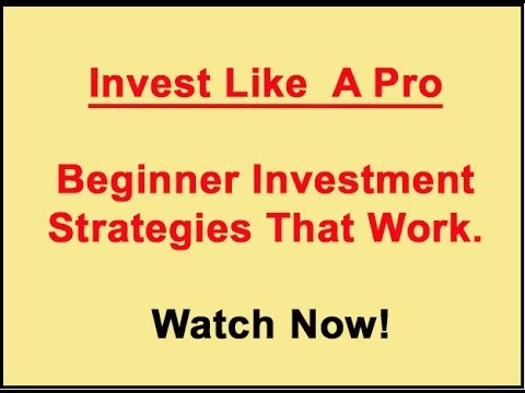 Investment tips for beginner and advanced stock investors