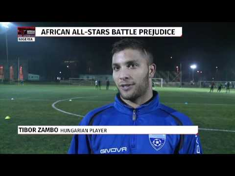 African migrants form football team