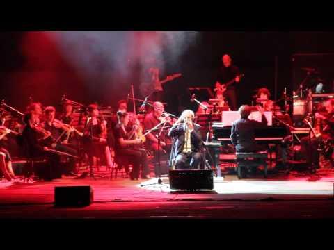 Franco Battiato e l'Orchestra Toscanini in concerto all'Arena Flegrea Napoli 23/7/2012
