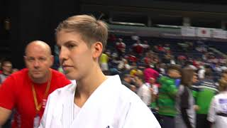 The 12th World Karate Championship Lili Mezo Hungary No.42 第12回世...
