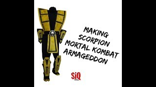 Armageddon Mortal Kombat SCORPION Costume Replica