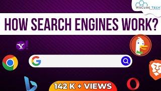 Search Engine Working - 2019 | Ranking Algorithm | Crawlers | SEO Tutorial