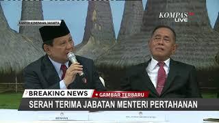 Hari Pertama Menhan, Prabowo Belum Belajar Semua Masalah