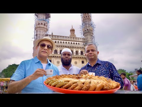 NIMRAH CAFÉ | Hyderabad's Most Popular IRANI CHAI & Osmania Biscuits |CHARMINAR|Making Of Irani Chai