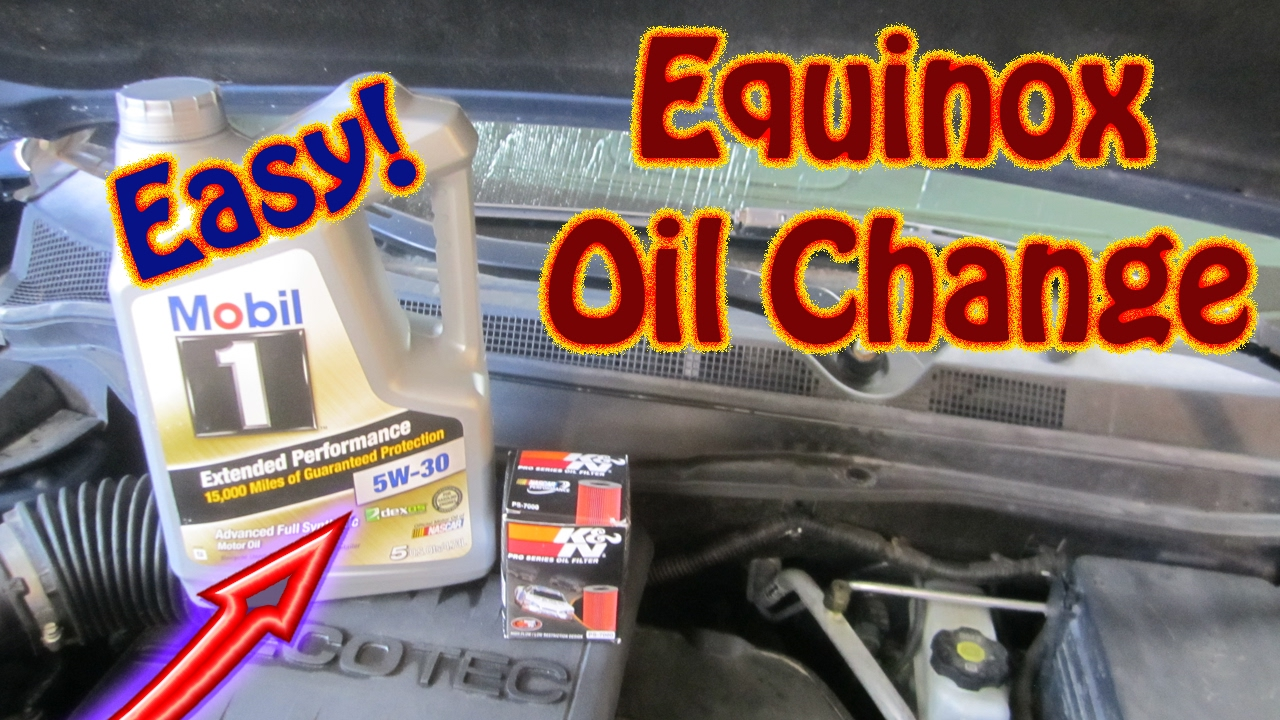 Diy How To Perform An Oil Change And Filter Replacement On A Chevy