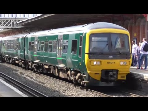Trains at Slough, Great Western Mainline   12/05/16