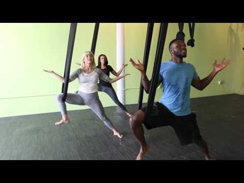 Aerial Yoga- Gym Flow
