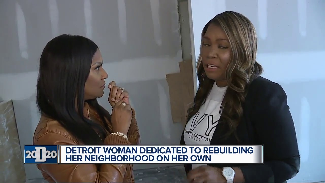 Detroit woman buying back her neighborhood, bringing healthy food to Detroit's east side