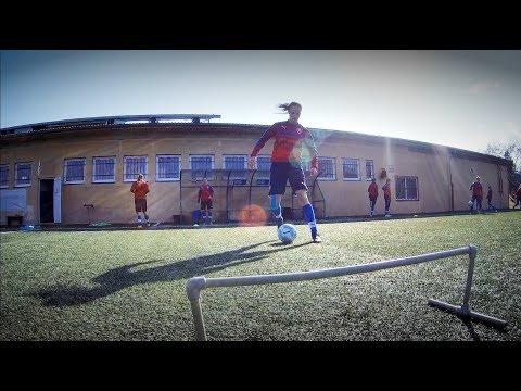 Páteční trénink reprezentace WU19