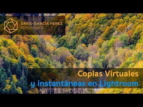 Copias Virtuales y Instantáneas en Adobe Lightroom