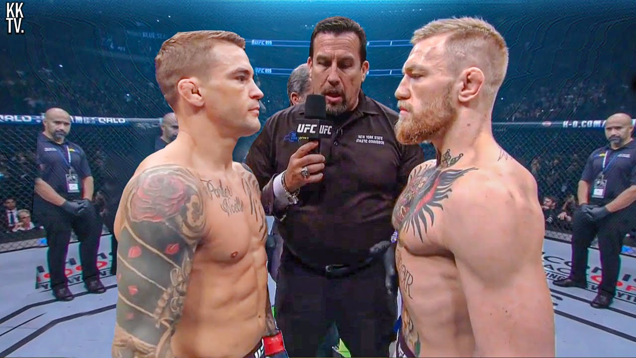 Conor McGregor dropped two places in the official lightweight ranking after a fight with Dustin Poirier at UFC 264