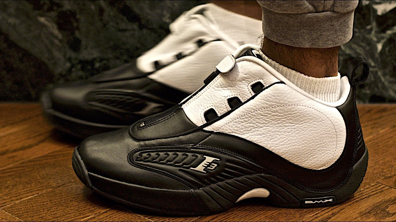 c925ce0e48b83c Allen Iverson Reebok ANSWER IV STEPOVER Sneaker Preview and On-foot Review