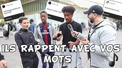 ILS RAPPENT AVEC VOS MOTS - Micro Trottoir
