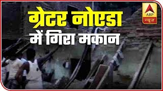Greater Noida: Two Children Dead As 2-Storey Building Collapses | ABP News