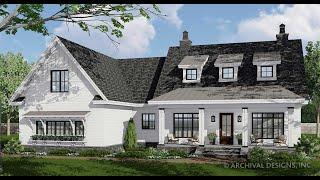 Goose Creek Modern Farmhouse Plan