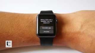Apple Watch: watchOS apps installeren en verwijderen