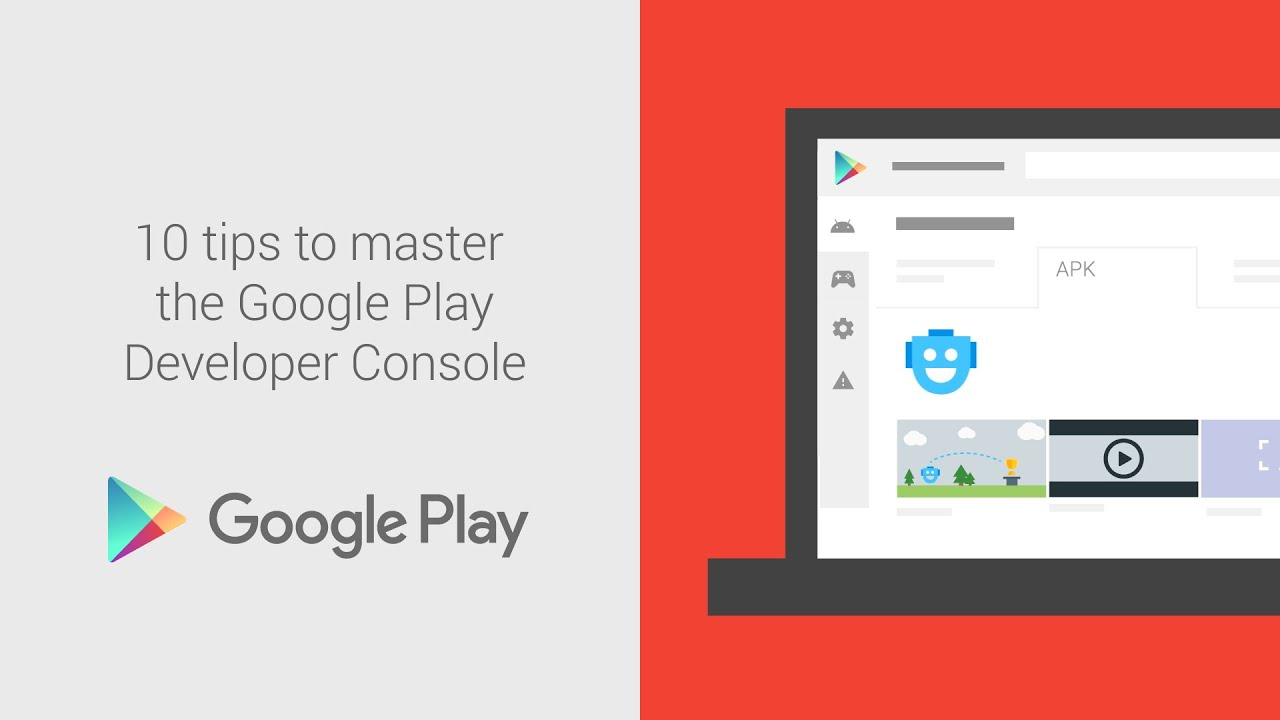 10 tips to master the Google Play Console - YouTube Google Play Console on