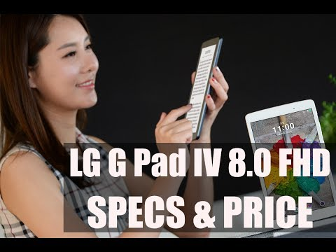 LG G Pad IV 8.0 FHD | Specification, Features And Price