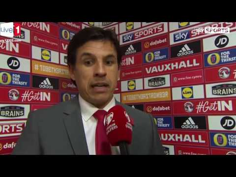 Chris Coleman Post Match interview ► Wales vs Serbia (1-1) ► World Cup Qualifiers 2016