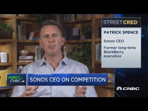 Sonos CEO Patrick Spence on earnings beat and future growth