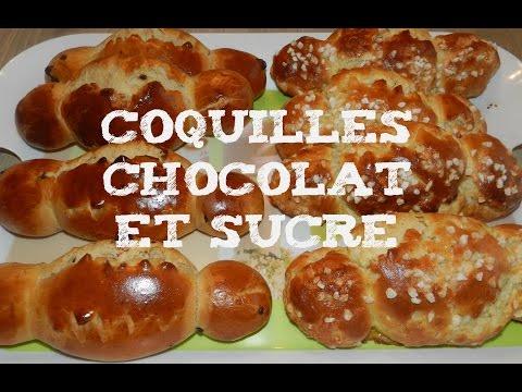 brioche-maison-:coquille-chocolat-et-sucre