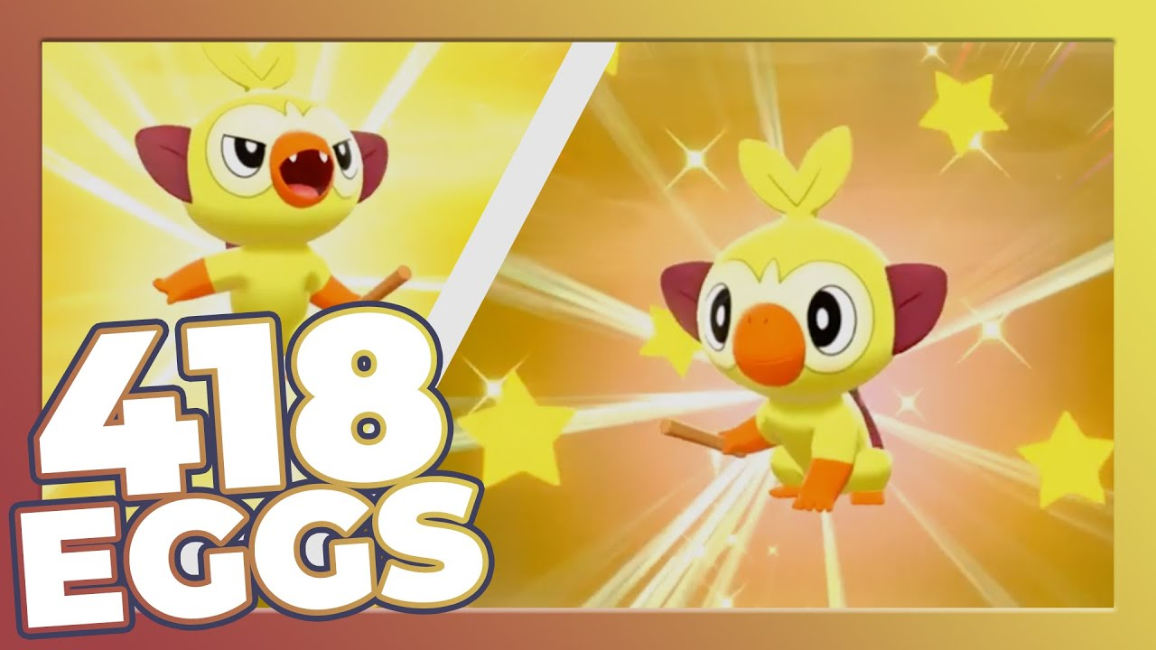 Shiny Grookey After 418 Eggs Epic Shiny Reaction Pokemon Sword And Shield Youtube We have no inside info/leaks hinting a potential release date for other shiny pokemon from generation 3. youtube