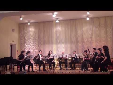 Духовой оркестр из Токио испол  Голубой вагон