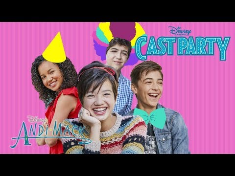 Andi Mack Cast Party | Andi Mack | Disney Channel