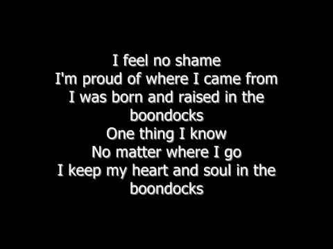 BOONDOCKS - LITTLE BIG TOWN - LYRICS ON SCREEN - TURN HD ON