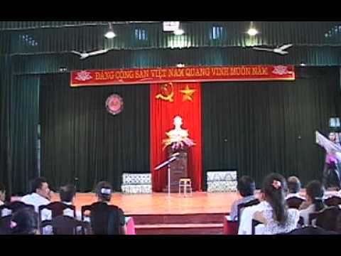 Những tiết mục tham gia dự thi của trường THPT Dân tộc nội trú tỉnh Thanh Hóa