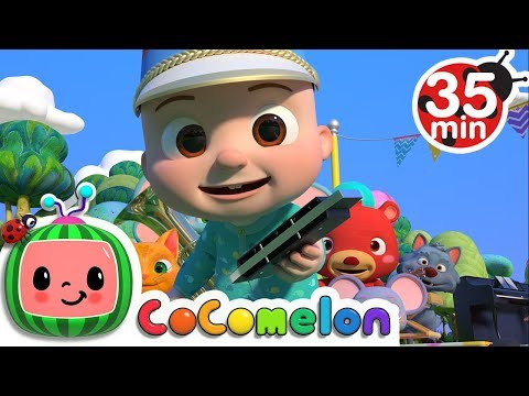 Marching Band Song (Instrument Song) | +More Nursery Rhymes & Kids Songs - Cocomelon (ABCkidTV)