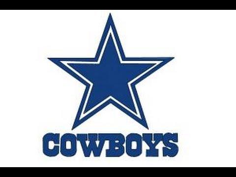 How To Draw Dallas Cowboys Logo Nfl Team Logo Youtube