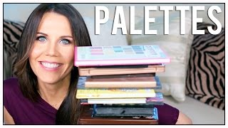 MAKEUP PALETTE COLLECTION | Makeup Graveyard