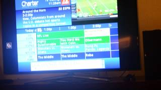 How to use Charter Communications DVR with a Samsung Smart TV Facebook Twitter Youtube