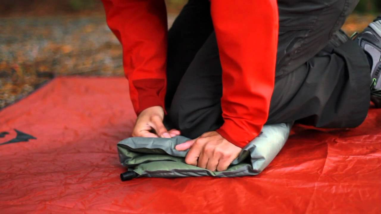 Self Inflating Matras : Using your self inflating therm a rest mattress youtube