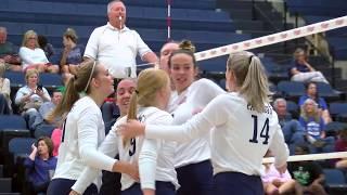 DBU Volleyball Highlights vs. Lubbock Christian (9/13/18)