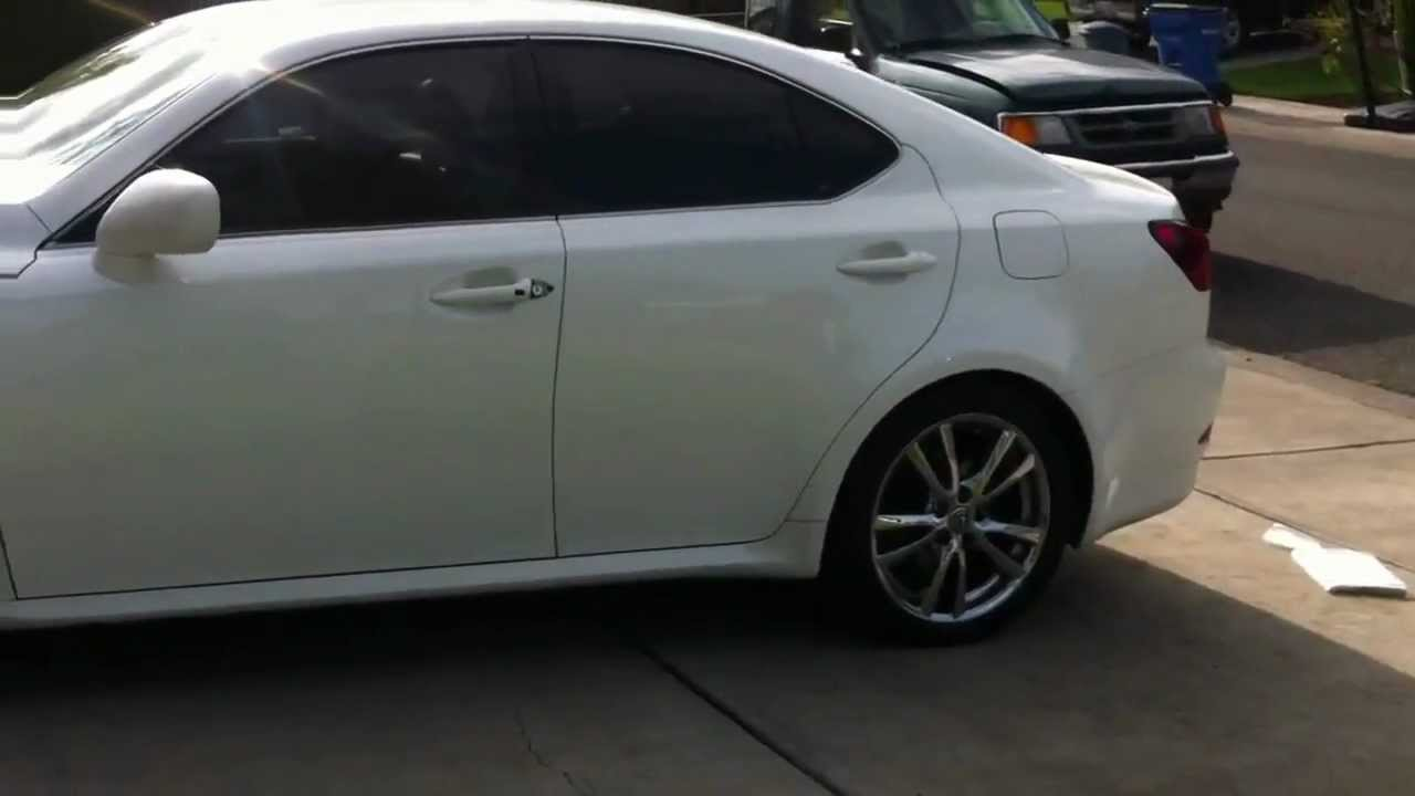 2006 white lexus is250 for sale youtube. Black Bedroom Furniture Sets. Home Design Ideas