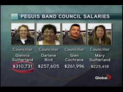 Peguis chief defends high salary