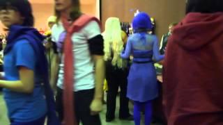 Hallways and Vendor hall @ Anime getaway 2015
