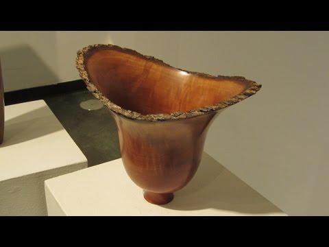Log to Gallery - Bradford Pear Natural Edge Deep Vessel