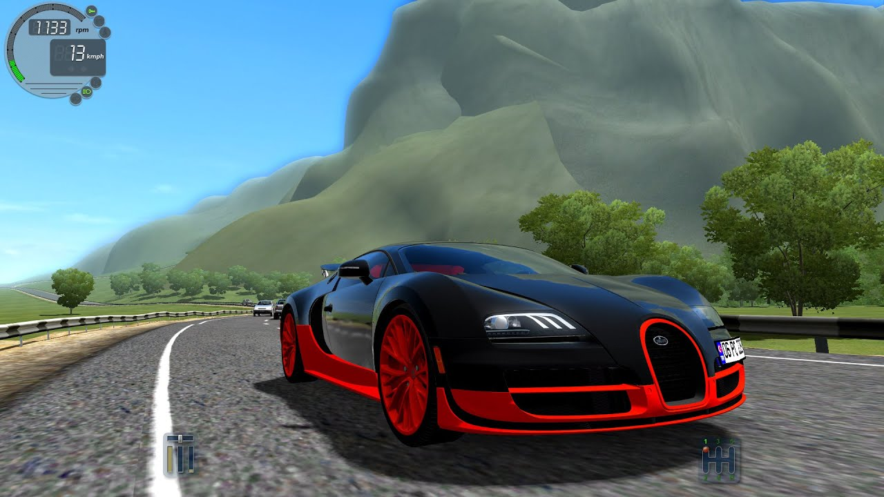City Car Driving Bugatti Veyron