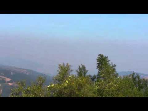 Today: Smoke sighting from Saratoga California