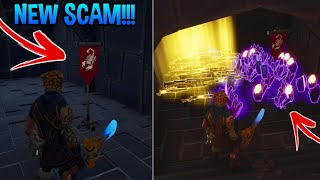 Arnaque New SCAMRespawn To Heaven! (Scammer Obtient Scammed) Fortnite sauver le monde