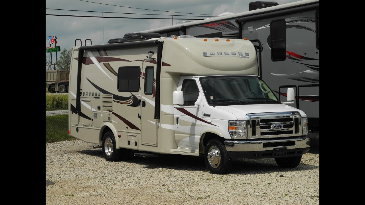 2015 Coachmen Concord 240rb Fun Compact Luxury Motorhome