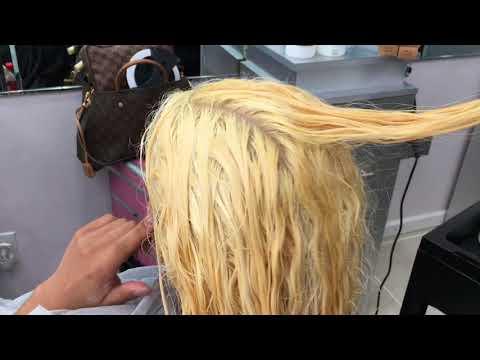 How To Bleach Dark Hair.